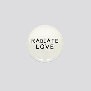 Radiate Love Mini Button