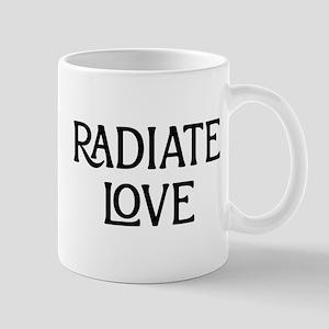 Radiate Love 11 oz Ceramic Mug