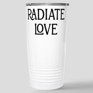 Radiate Love 16 oz Stainless Steel Travel Mug