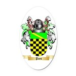 Paes Oval Car Magnet