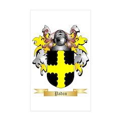 Padon Sticker (Rectangle 10 pk)