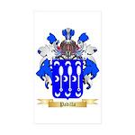 Padilla Sticker (Rectangle 50 pk)