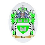 Pacy Oval Ornament