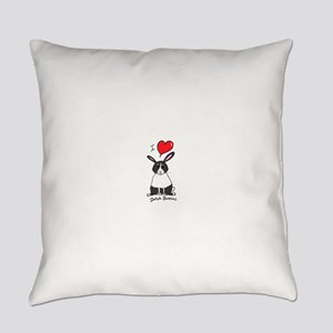 I love Dutch bunnies chubby bunny Everyday Pillow