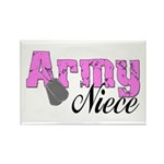 Army Niece Rectangle Magnet (10 pack)