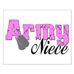 Army Niece Small Poster