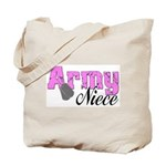 Army Niece  Tote Bag