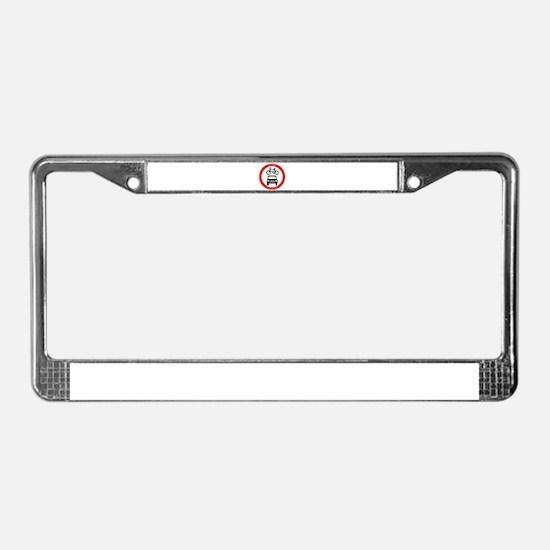 Cute Road License Plate Frame
