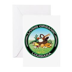Living Organic Louisiana Greeting Cards (Pk of 10)
