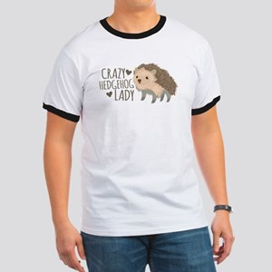 Crazy Hedgehog Lady T-Shirt