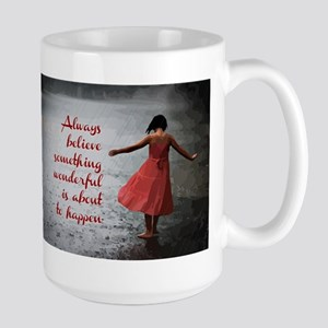 Always Believe Stainless Steel Travel Mugs