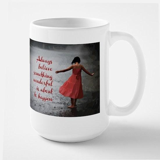 Always Believe Stainless Steel Travel Mugs