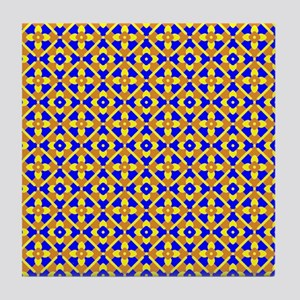 Mexican Tile Pattern Coaster