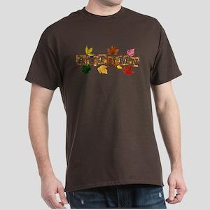 Autumn Leaves Dark T-Shirt