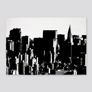 The City 5'x7'Area Rug