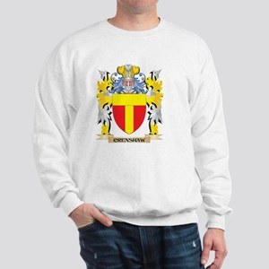 Crenshaw Coat of Arms - Family Crest Sweatshirt