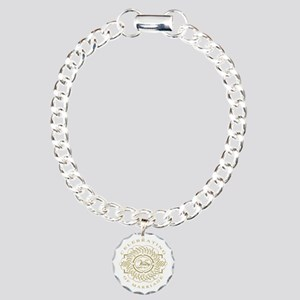 25th Wedding Anniversary Charm Bracelet One