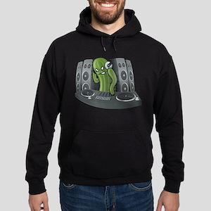 Funny DJ Cactus Hoodie (dark)