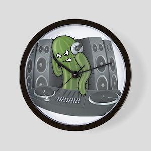 Funny DJ Cactus Wall Clock