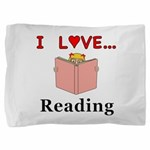 I Love Reading Pillow Sham