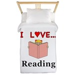 I Love Reading Twin Duvet