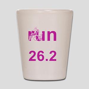 pink_runlikeagirl_262 Shot Glass