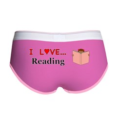 I Love Reading Women's Boy Brief