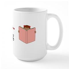 I Love Reading Large Mug