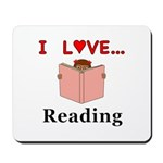 I Love Reading Mousepad
