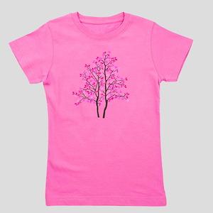 pink_tree Girl's Tee