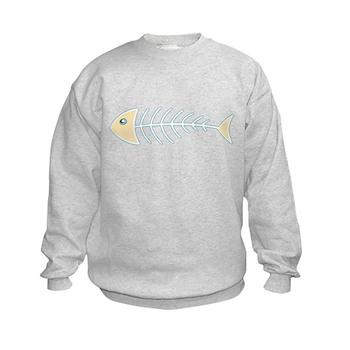 Herring Bones Kids Sweatshirt