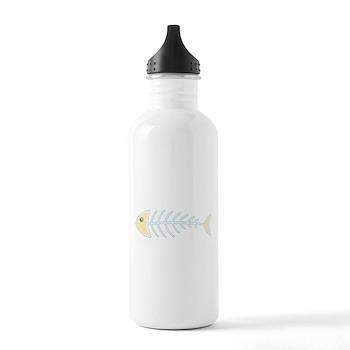 Herring Bones Stainless Water Bottle 1.0L