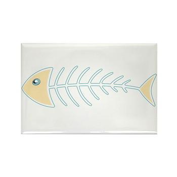 Herring Bones Rectangle Magnet (100 pack)