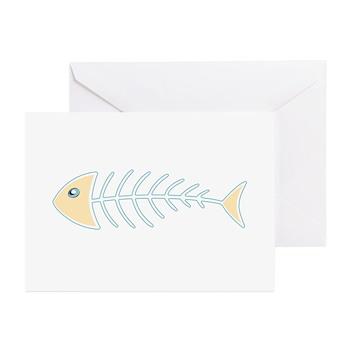 Herring Bones Greeting Cards (10 pack)