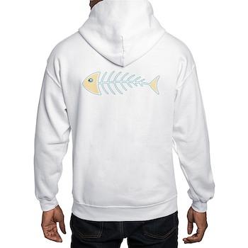 Herring Bones Hooded Sweatshirt