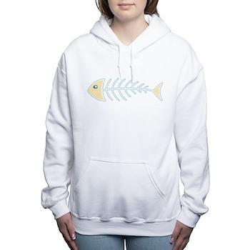 Herring Bones Women's Hooded Sweatshirt