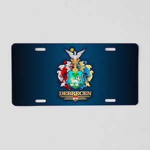 Debrecen Aluminum License Plate