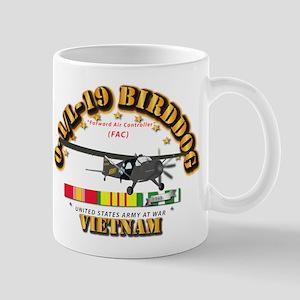 L19 Bird Dog w VN Svc Ribbons Mug