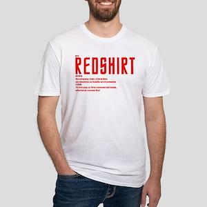 Star Trek Red Shirt Definition Fitted T-Shirt