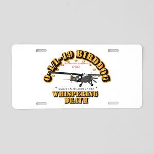 L19 Bird Dog - Whispering D Aluminum License Plate