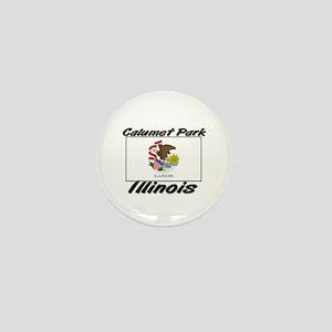 Calumet Park Illinois Mini Button