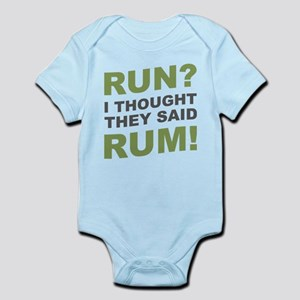 Run? I thought they said Rum! Body Suit