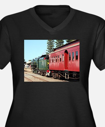 Cockle train & carriage Plus Size T-Shirt