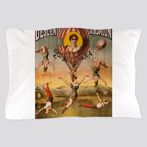 Vintage poster - Descente D'absalon Pillow Case