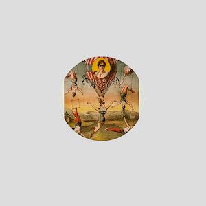 Vintage poster - Descente D'absalon Mini Button