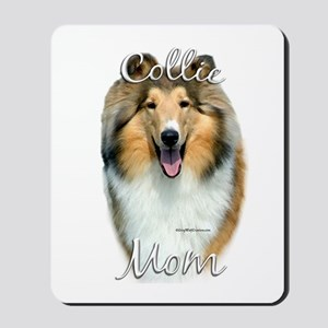 Collie Mom2 Mousepad