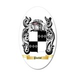 Pactot 35x21 Oval Wall Decal