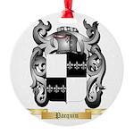 Pacquin Round Ornament