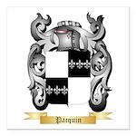 Pacquin Square Car Magnet 3