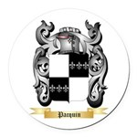 Pacquin Round Car Magnet